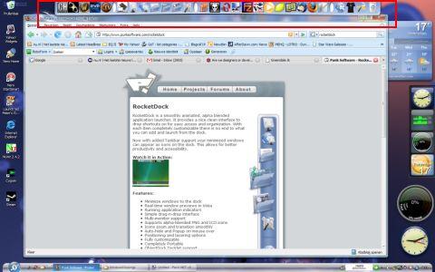 Rocketdock Screenshot